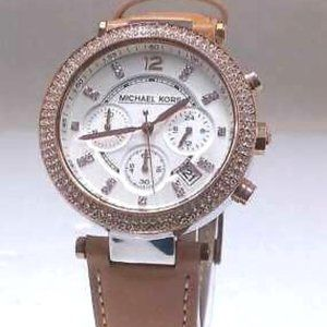 Michael Kors 5633 Ladies Watch w/ leather band
